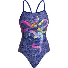 Funkita Single Strap Swimsuit Women, colorato